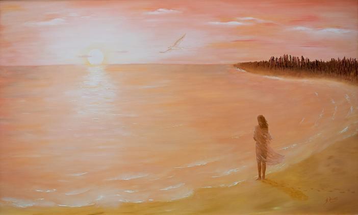 """sosiego 09 """"mirada desde la orilla"""""""