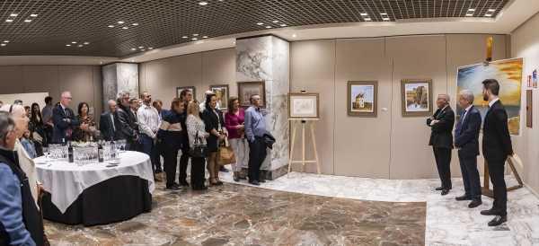 11 Inauguración de la exposición del pintor Antonio Aráez García en el Siete Coronas