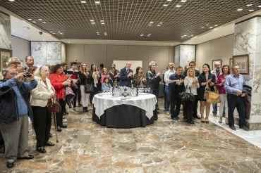 12 Inauguración de la exposición del pintor Antonio Aráez García en el Siete Coronas