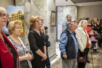 13 Inauguración de la exposición del pintor Antonio Aráez García en el Siete Coronas