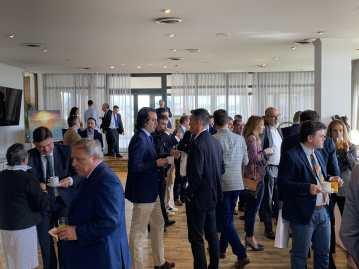 19 Inauguración de la exposición de pintura de Antonio Aráez García en AIF, Club Financiero Génova de Madrid