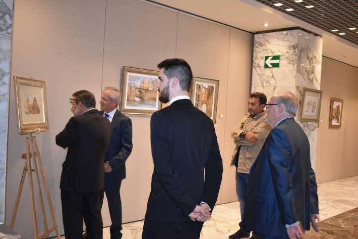 20 En la exposicion Siete Corona Antonio Araez Moreno